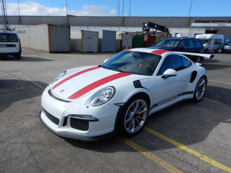 f93812c190 Other Exclusive Sports Cars We Exported Worldwide. Porsche 991 GT3 RS  waiting in Bremerhaven for loading